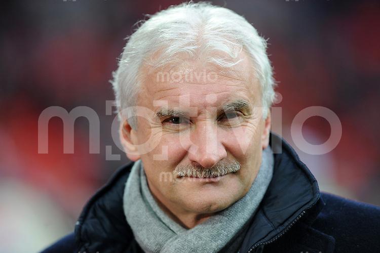 FUSSBALL  1. BUNDESLIGA   SAISON 2009/2010  18. SPIELTAG Bayer 04 Leverkusen - FSV Mainz 05                     16.10.2010   Sportmanager Rudi VOELLER (Leverkusen)