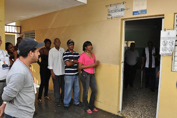 Recorrido por Centros de votación de la carretera Sanchez.Foto:Saturnino Vasquez/acento.com.do.Fecha:20/05/2012