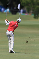 Janne Kaske (FIN) on the 9th fairway during Round 3 of the Australian PGA Championship at  RACV Royal Pines Resort, Gold Coast, Queensland, Australia. 21/12/2019.<br /> Picture Thos Caffrey / Golffile.ie<br /> <br /> All photo usage must carry mandatory copyright credit (© Golffile | Thos Caffrey)