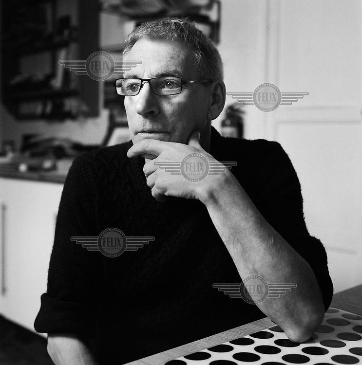 Photographer Pete Smyth at his home on the Killinarden Estate.