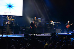 HOLLYWOOD, FL - JANUARY 10: (L-R) Graeme Edge, Norda Mullen, John Lodge, Gordon Marshall, Alan Hewitt and Justin Hayward of the Moody Blues perform at Hard Rock Live! in the Seminole Hard Rock Hotel & Casino on January 10, 2018 in Hollywood, Florida. ( Photo by Johnny Louis / jlnphotography.com )