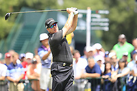 D.A. Points (USA) tees off the 1st tee to start Saturday's Round 3 of the 2017 PGA Championship held at Quail Hollow Golf Club, Charlotte, North Carolina, USA. 12th August 2017.<br /> Picture: Eoin Clarke | Golffile<br /> <br /> <br /> All photos usage must carry mandatory copyright credit (&copy; Golffile | Eoin Clarke)