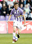 Real Valladolid's Juan Villar during La Liga Second Division match. March 11,2017. (ALTERPHOTOS/Acero)