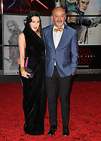 Dita Von Teese &amp; Guest at the world premiere for &quot;Star Wars: The Last Jedi&quot; at the Shrine Auditorium. Los Angeles, USA 09 December  2017<br /> Picture: Paul Smith/Featureflash/SilverHub 0208 004 5359 sales@silverhubmedia.com