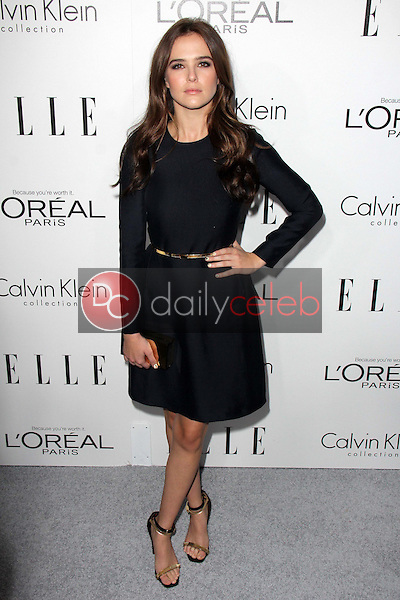 """Zoey Deutch<br /> at the Elle 20th Annual """"Women In Hollywood"""" Event, Four Seasons Hotel, Beverly Hills, CA 10-21-13<br /> David Edwards/Dailyceleb.com 818-249-4998"""