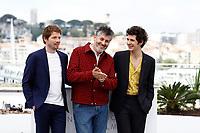Pierre Deladonchamps, Christophe Honore; Vincent Lacoste<br /> 11-05-2018 Cannes <br /> 71ma edizione Festival del Cinema <br /> Foto Panoramic/Insidefoto