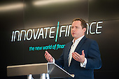 Al Lukies, CEO Monitise and Chair, Innovate Finance.  Launch of Innovate Finance, Level39, Canary Wharf.