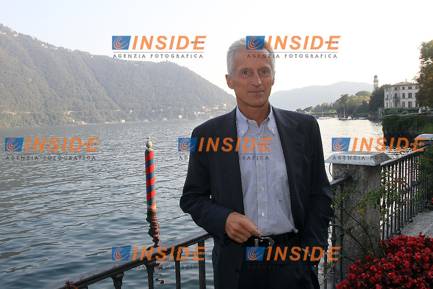 L'imprenditore RICCARDO ILLY<br /> Cernobbio 03/09/2010 Workshop Ambrosetti<br /> ALBERTO CAMICI / INSIDEFOTO