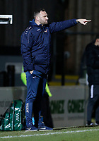 Barrow manager Ian Evatt directs during Dover Athletic vs Barrow, Vanarama National League Football at the Crabble Athletic Ground on 4th February 2020