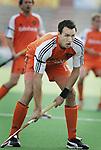 Champions Trophy Hockey mannen. Nederland-Duitsland 3-4. Karel Klaver tijdens de wedstrijd.