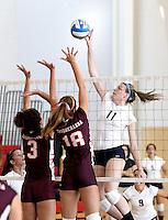 100905 Neumann University - Volleyball vs Susquehanna at Haverford College