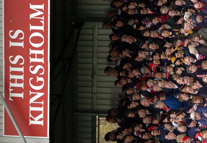 Photo. Henry Browne..Gloucester v Worcester. Zurich  Premiership. 29/01/2005..Kingsholm..