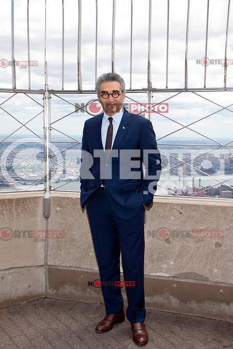 Eugene Levy at the Empire State Building for TYLER PERRY'S MADEA'S WITNESS PROTECTION in New York City.   June 26, 2012 &copy; Laura Trevino/Media Punch Inc. *NORTEPHOTO*<br /> <br /> **SOLO*VENTA*EN*MEXICO** **CREDITO*OBLIGATORIO** *No*Venta*A*Terceros* *No*Sale*So*third* *** No Se Permite Hacer Archivo** *No*Sale*So*third*&Acirc;&copy;Imagenes con derechos de autor,&Acirc;&copy;todos reservados. El uso de las imagenes est&Atilde;&iexcl; sujeta de pago a nortephoto.com El uso no autorizado de esta imagen en cualquier materia est&Atilde;&iexcl; sujeta a una pena de tasa de 2 veces a la normal. Para m&Atilde;&iexcl;s informaci&Atilde;&sup3;n: nortephoto@gmail.com* nortephoto.com.