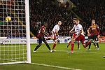 Sheffield United's David Edgar scores his sides third goal - Sheffield United vs Bradford City - Skybet League One - Bramall Lane - Sheffield - 28/12/2015 Pic Philip Oldham/SportImage