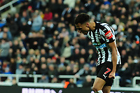 A frustrated Jacob Murphy of Newcastle United during Newcastle United vs Luton Town, Emirates FA Cup Football at St. James' Park on 6th January 2018