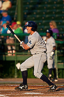 Anthony Scelfo (9) of the Charlotte Stone Crabs during a game vs. the Daytona Cubs June 1 2010 at Jackie Robinson Ballpark in Daytona Beach, Florida. Charlotte won the game against Jupiter by the score of 4-1.  Photo By Scott Jontes/Four Seam Images