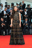 Hong Chau at the Downsizing premiere and Opening Ceremony, 74th Venice Film Festival in Italy on 30 August 2017.<br /> <br /> Photo: Kristina Afanasyeva/Featureflash/SilverHub<br /> 0208 004 5359<br /> sales@silverhubmedia.com