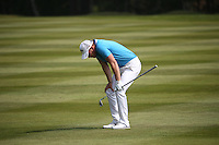 Danny Willett (ENG) unhappy with his approach to the 9th during Round Three of the 2016 BMW PGA Championship over the West Course at Wentworth, Virginia Water, London. 28/05/2016. Picture: Golffile   David Lloyd. <br /> <br /> All photo usage must display a mandatory copyright credit to © Golffile   David Lloyd.