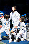 Real Madrid's Daniel Carvajal during La Liga match. April 09, 2016. (ALTERPHOTOS/Borja B.Hojas)