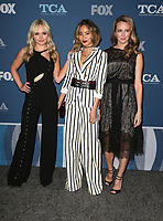 04 January 2018 - Pasadena, California - Natalie Alyn Lind, Jamie Chung, Amy Acker. 2018 Winter TCA Tour - FOX All-Star Party held at The Langham Huntington Hotel. <br /> CAP/ADM/FS<br /> &copy;FS/ADM/Capital Pictures
