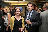 Susie Orton of Browne Jacobson with Sanjay Kapur of Potter Clarkson