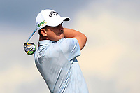 Christiaan Bezuidenhout (RSA) on the 5th tee during Round 2 of the Betfred British Masters 2019 at Hillside Golf Club, Southport, Lancashire, England. 10/05/19<br /> <br /> Picture: Thos Caffrey / Golffile<br /> <br /> All photos usage must carry mandatory copyright credit (&copy; Golffile | Thos Caffrey)