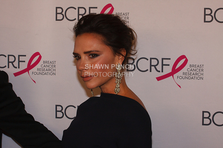 "Victoria Beckham attends The Breast Cancer Research Foundation ""Super Nova"" Hot Pink Party on May 12, 2017 at the Park Avenue Armory in New York City."