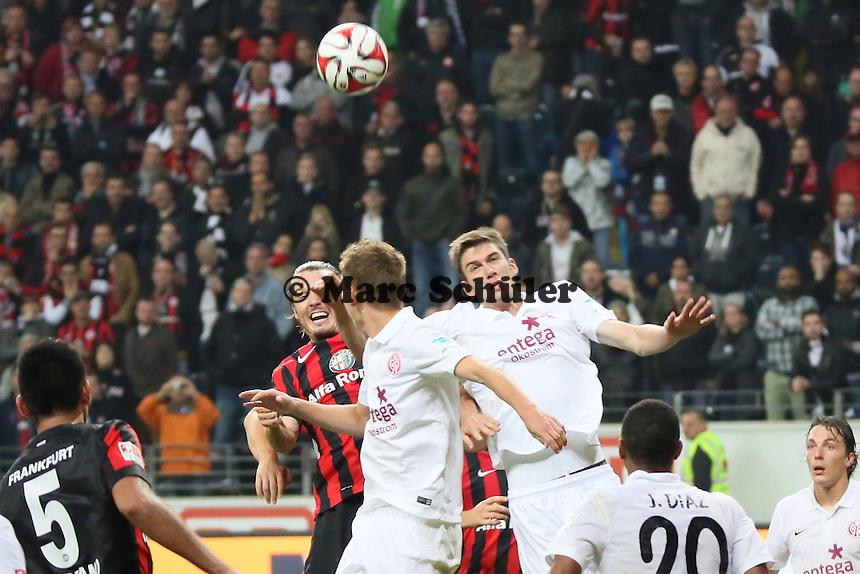 Chance fuer ALex Meier (Eintracht) - Eintracht Frankfurt vs. 1. FSV Mainz 05, Commerzbank Arena