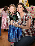Robyn and Yvonne O'Connor at the Princess Ball in the Barbican.<br /> <br /> Photo - Jenny Matthews