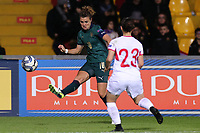 Cristiana Girelli of Italy and Helene Raukh of Georgia compete for the ball<br /> Benevento 08-11-2019 Stadio Ciro Vigorito <br /> Football UEFA Women's EURO 2021 <br /> Qualifying round - Group B <br /> Italy - Georgia<br /> Photo Cesare Purini / Insidefoto