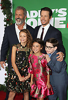 WESTWOOD, CA - NOVEMBER 5: Mel Gibson, Mark Wahlberg, Scarlett Estevez, Didi Costine and Owen Vaccaro at the premiere of Daddy's Home 2 at the Regency Village Theater in Westwood, California on November 5, 2017. <br /> CAP/MPI/FS<br /> &copy;FS/MPI/Capital Pictures