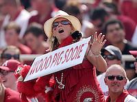 NWA Democrat-Gazette/BEN GOFF @NWABENGOFF<br /> Arkansas vs UTEP on Saturday Sept. 5, 2015 in Razorback Stadium in Fayetteville.