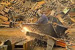 Scrap metal handling