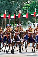 Abu Dhabi army on horseback