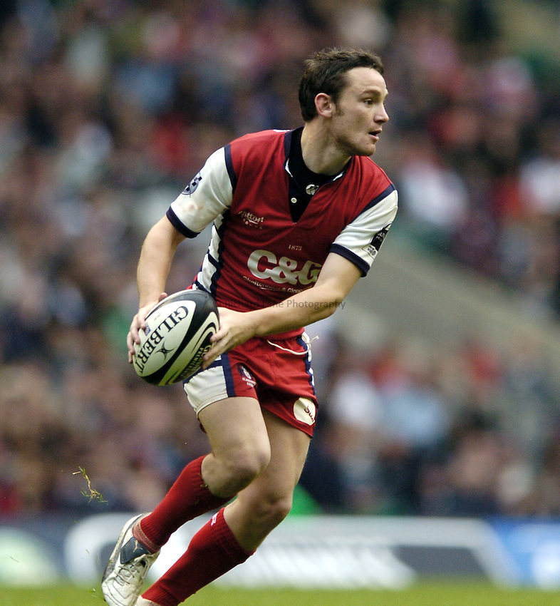 Photo: Jonathan Butler..Gloucester Rugby v Leicester Tigers. Guinness Premiership Final. 12/05/2007..Ryan Lamb of Gloucester.