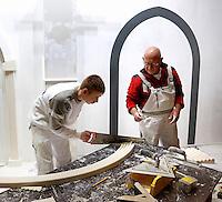 Skills Masters beurs in Rotterdam Ahoy. Banenbeurs/ Beroepskeuze beurs voor VMBO en MBO  leerlingen. Vakwedstrijd voor stukadoors