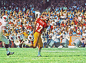 Washington Redskins tight end Jerry Smith (87) carries the ball after making a catch during the game against the St. Louis Cardinals at RFK Stadium in Washington, DC on October 21, 1973.  The Redskins won the game 31-13.<br /> Credit: Arnie Sachs / CNP