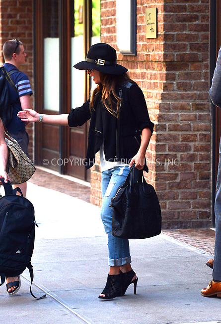 ACEPIXS.COM<br /> <br /> July 25 2014, New York City<br /> <br /> Lea Michele leaves a downtown hotel on July 25 2014 in New York City<br /> <br /> <br /> By Line: Curtis Means/ACE Pictures<br /> <br /> ACE Pictures, Inc.<br /> www.acepixs.com<br /> Email: info@acepixs.com<br /> Tel: 646 769 0430
