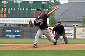 Kutztown Rockies pitcher #12 Paul Schleifer from the University of Nebraska, Kearney, pitches a strong game against the Quakertown Blazers during the Atlantic Collegiate Baseball League on Tuesday July 4, 2006 at Quakertown Memorial Park in Quakertown, Pa. (Jane Therese/Special to The Morning Call).