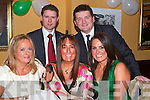 Enjoying Jimmy Deenihan's 25th Anniversary celebrations in the Listowel arms Hotel on Friday night  Brenda Murphy, Rita and Cathy Horan Tralee, Thomas Horan and Cian Reilly, Limerick.   Copyright Kerry's Eye 2008