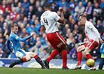 Andy Halliday gets his shot away