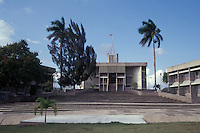 National Assembly and other government buildings in in Belmopan, Belize