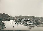 Maniitsoq Sukkertoppen Greenland in the late 19th century, circa 1889,