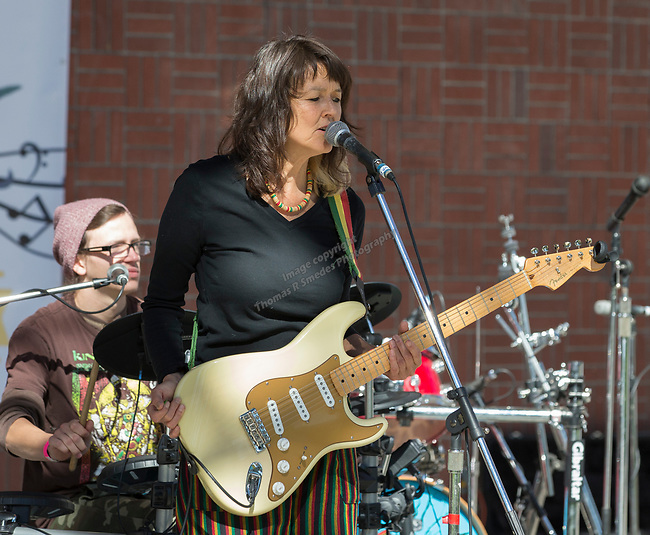 Reggae Shack Refugees band played during the inaugural Bud and Brew Music Festival in Wingfield Park in downtown Reno on Saturday, Sept. 23, 2017.