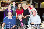 Nellie Mulcahy Rathmore who celebrated her birthday with her family and friends in Lord Kenmares restaurant on Saturday front l-r; Donie, Nellie and DD Mulcahy. Back row: Connie, Robert, Rebecca and Caroline Mulcahy, Evelyn Moyles and Grainne Mulcahy