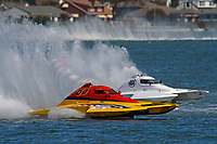 "J. P. Squires, S-83 ""Mega Bucks"", Rich Wilhelm, S-404 ""Power Shot""            (2.5 Litre Stock hydroplane(s)"