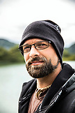 USA, Alaska, Redoubt Bay, Big River Lake, one of the bear biologists at Redoubt Bay Lodge