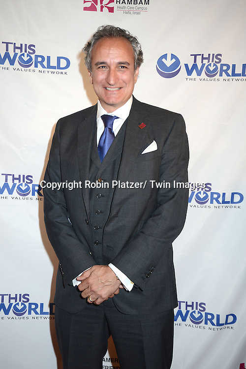 David Sterling attends the Inaugural Champion of Jewish Values International Awards Gala on June 4, 2013 at the Marriott Marquis Hotel in New York City. Sheldon Adelson, Mrs Miriam Adelson and Dr Mehmet Oz were honored.