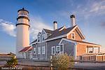 Sunset at Highland (Cape Cod) Light, Truro, Cape Cod, MA