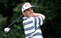 Padriag Harrington, professional golfer, Ireland. Ref: 2001062603. Taken at Murphy's Irish Open Golf event at Fota Island between 26 and 28 June 2001.<br />